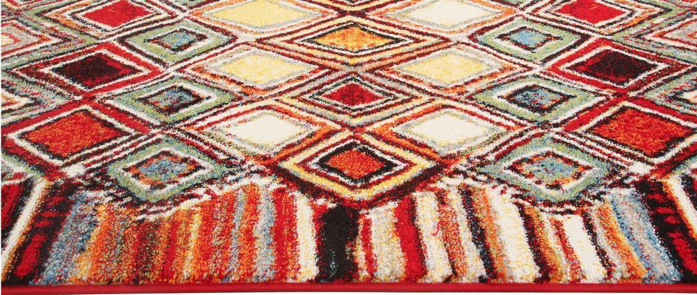Tapis à motifs multicolore 160 x 230 cm HOLI