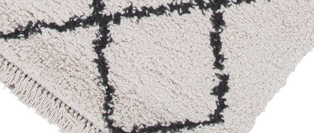 Tapis berbere écru 160 x 230 cm ZELIA