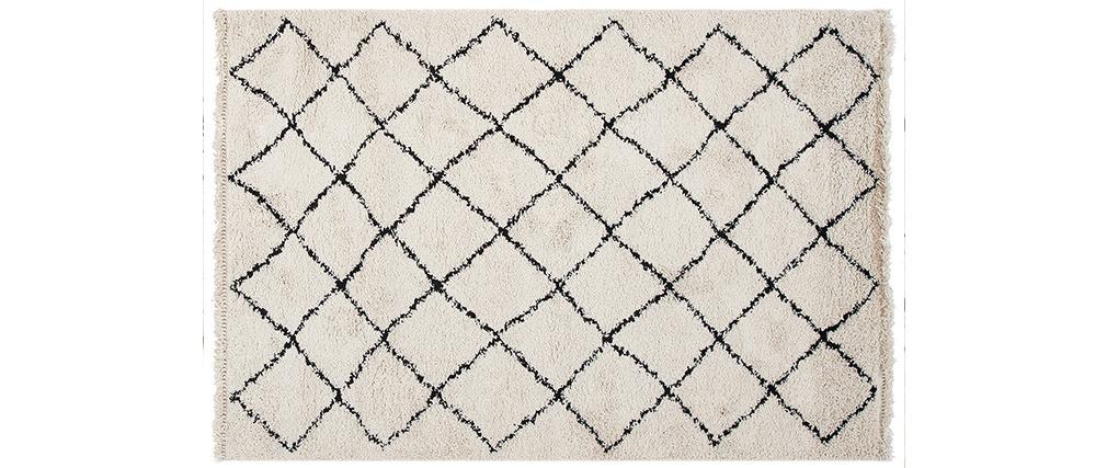 Tapis berbère écru 200 x 300 cm ZELIA