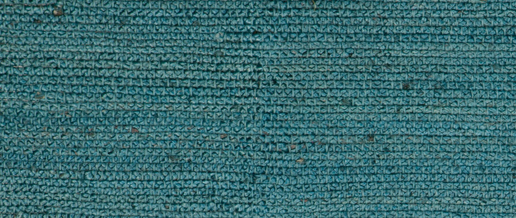 Tapis bleu canard jute 200x300cm GUNNY