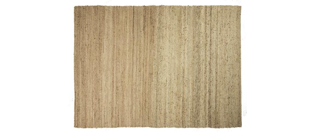 Tapis coloris naturel jute 140x200cm GUNNY
