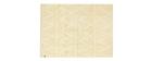 Tapis coton 120x160cm jaune ALISHIA