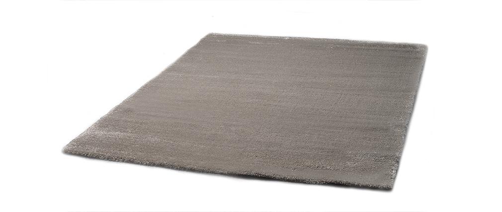tapis design gris et argent 160x230cm soft miliboo. Black Bedroom Furniture Sets. Home Design Ideas