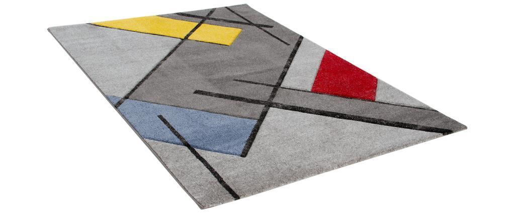 Tapis design multicolore 160 x 230 cm MATISS