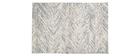 Tapis d'extérieur gris 160 x 230 cm ENORA
