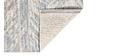 Tapis d'extérieur gris 200 x 290 cm ENORA