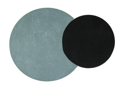 Tapis scandinave avec miliboo Tapis noir et bleu