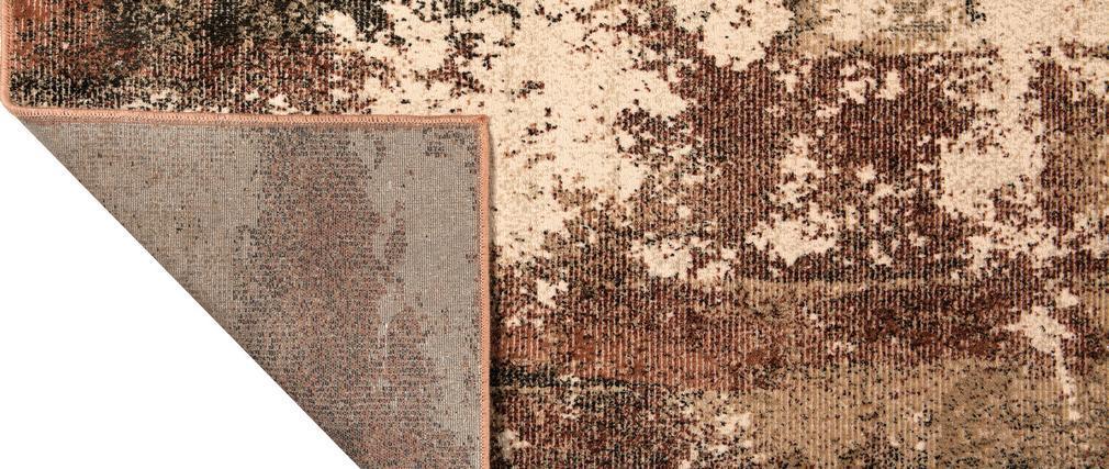 Tapis effet usé tons cuivrés 160 x 230 cm KIKA