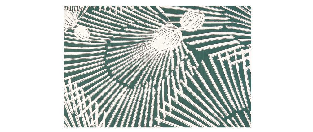 Tapis émeraude 120x170 cm TROPIC