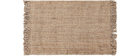 Tapis en jute naturel 160 x 230 cm NOOR