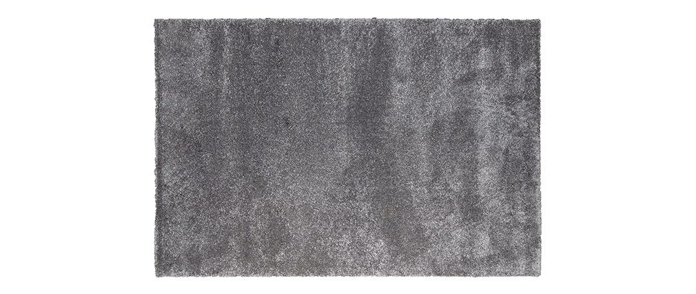 Tapis gris polypropylène 120x170 CLOUD