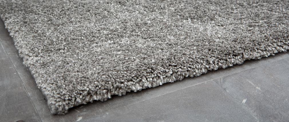 Tapis gris polypropylène 160x230 CLOUD