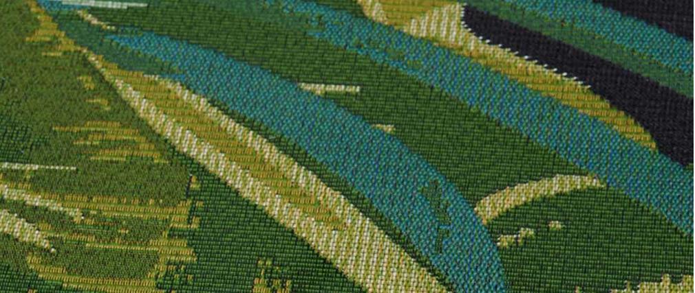 Tapis intérieur extérieur camaïeu de verts 160 x 230 cm MANAUS