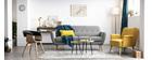 Tapis intérieur/extérieur gris 160 x 230 cm ENORA