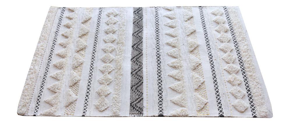 Tapis laine et sequins 160x230 cm LENITY