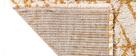 Tapis moderne beige et jaune 120 x 170 cm PALMERAIE