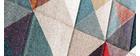 Tapis motifs graphiques multicolore 160 x 230 cm CHROMA