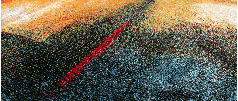 Tapis multicolore 160 x 230 cm ABSTRAIT