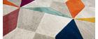 Tapis multicolore 160 x 230 cm DAUDET