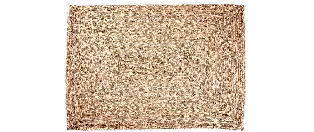 Tapis naturel en jute 160 x 230 cm PALKI
