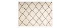Tapis polypropylène beige 200 x 290 cm BERBERE