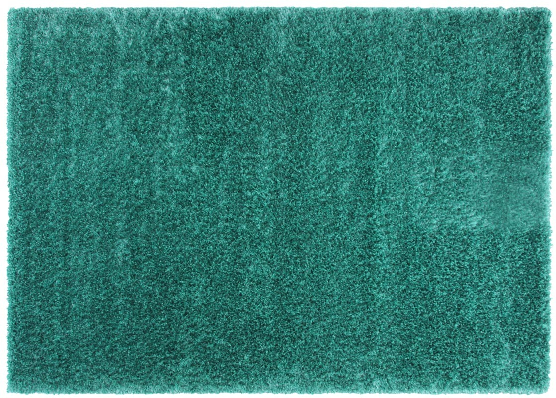 Tapis shaggy 160x230 turquoise flavio miliboo - Tapis shaggy turquoise ...