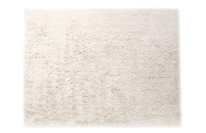 tapis shaggy blanc 160x230 cm ugo miliboo. Black Bedroom Furniture Sets. Home Design Ideas