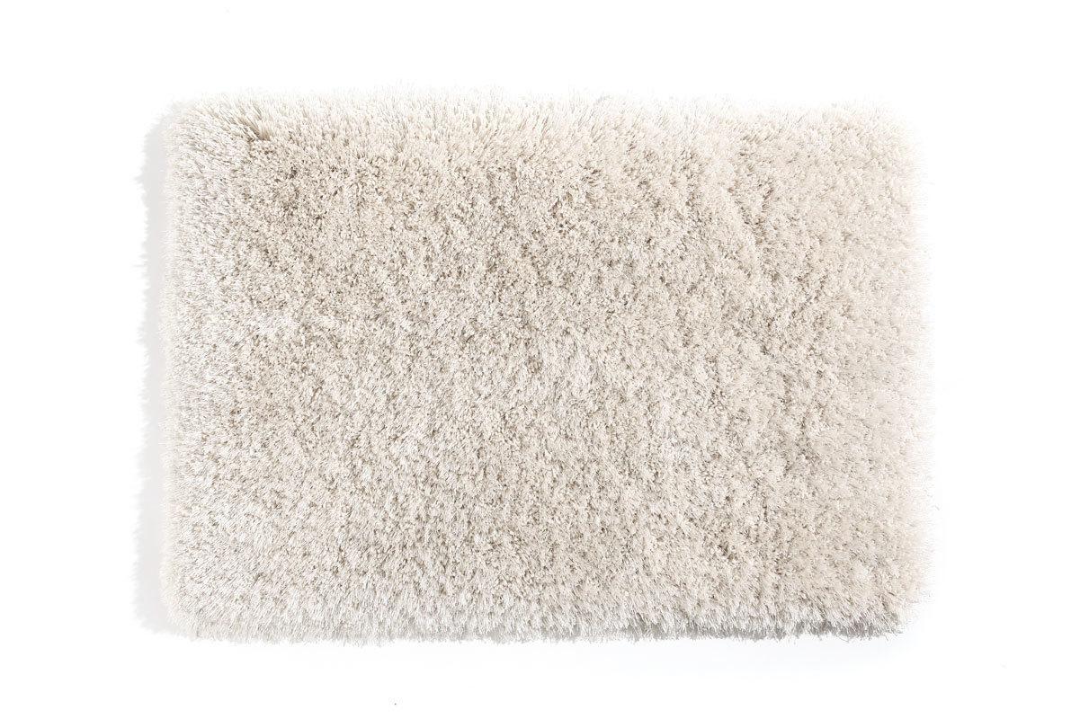 tapis shaggy descente de lit blanc cass 60x90 ugo miliboo. Black Bedroom Furniture Sets. Home Design Ideas