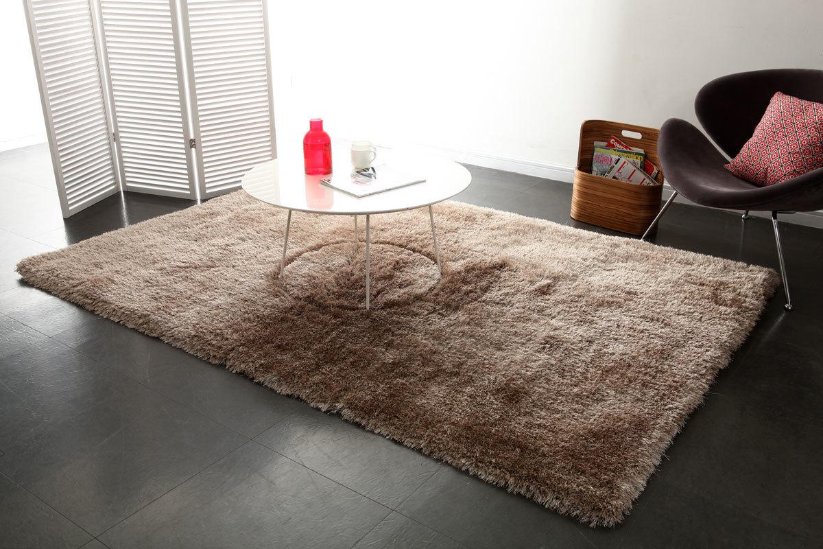 tapis shaggy taupe 160x230 cm ugo miliboo. Black Bedroom Furniture Sets. Home Design Ideas