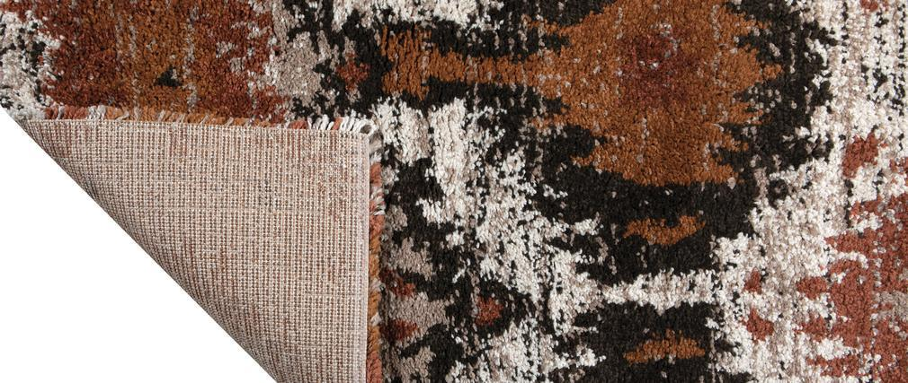 Tapis style berbère terracotta 160 x 230 cm GORRA