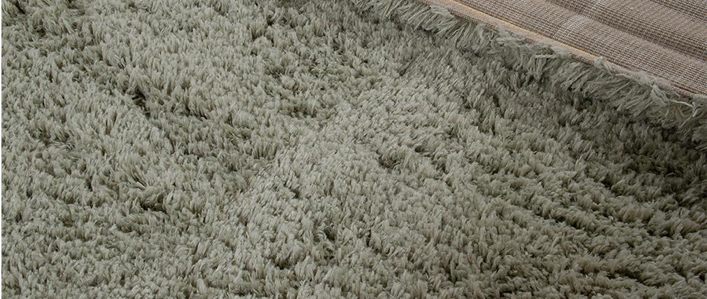 Tapis vert de gris 160x230 cm PLUMA