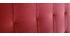 Tête de lit capitonnée velours terracotta 160 cm HALCION