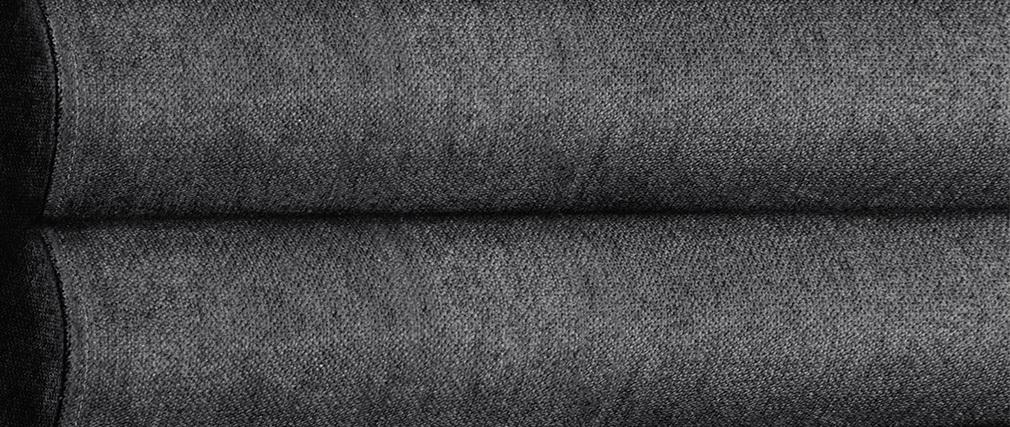 Tête de lit design en tissu gris foncé 140 cm HORIZON