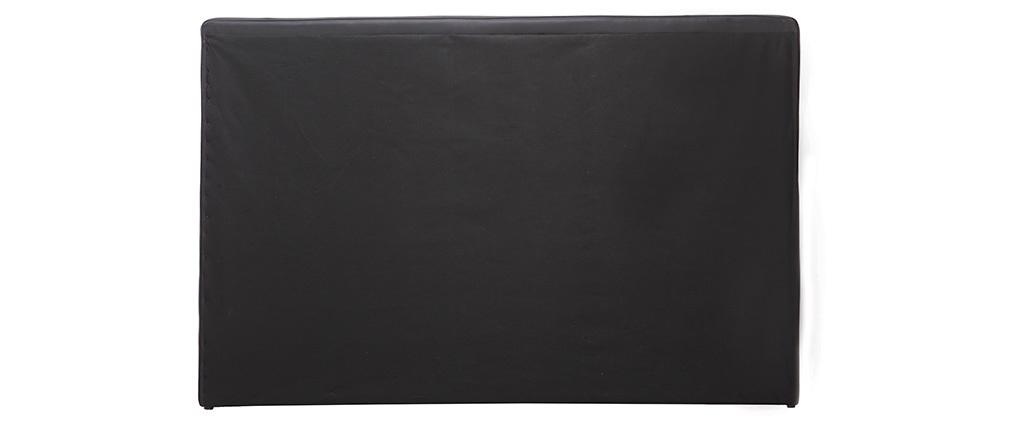 Tête de lit design noir 170 cm LUTECE