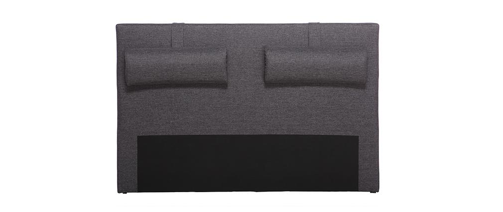 Tête de lit gris foncé 170 cm LORRY