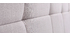 Tête de lit tissu gris clair 160 cm CLOVIS