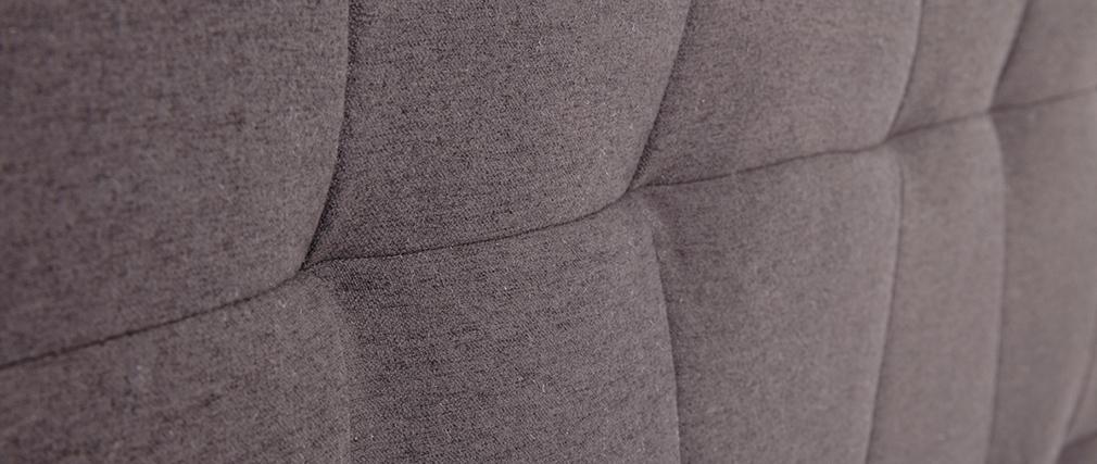 Tête de lit tissu gris foncé 170 cm SUKA
