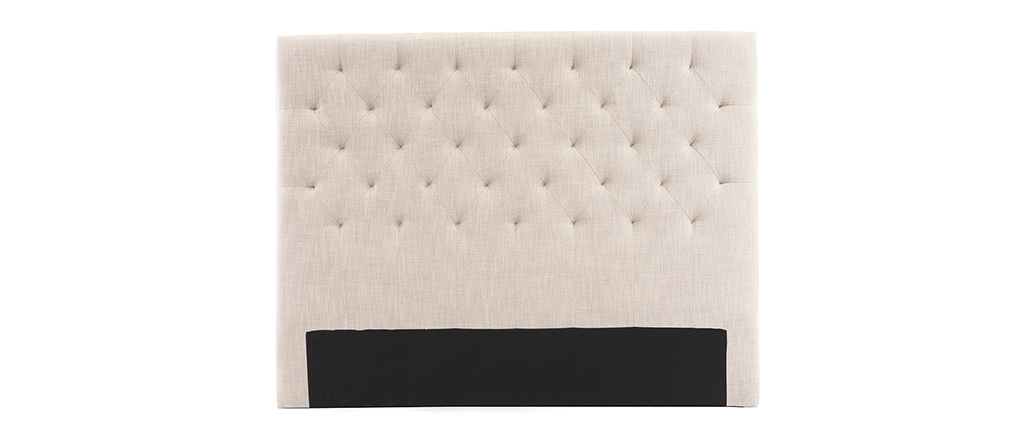 Tête de lit tissu naturel 160 cm ENGUERRAND