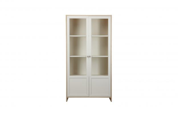 50 euros, code COLOR50  Vaisselier design bois blanc et