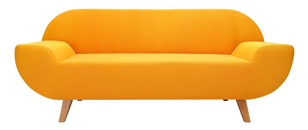 Chemin/ée electrique 1500w Ewt mini cube jaune